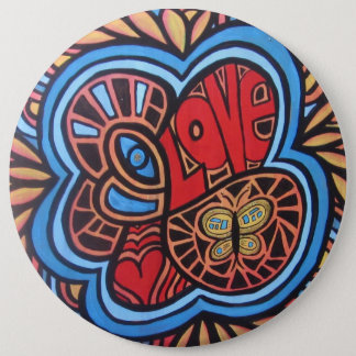 Hippie Love button