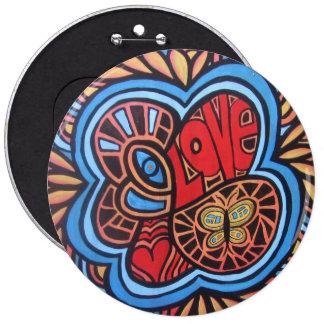 Hippie Love button