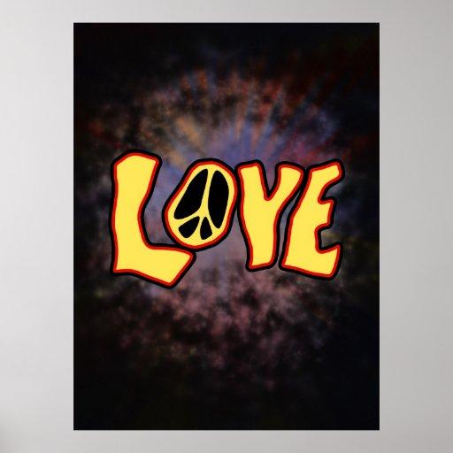Hippie Love Print