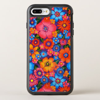 Hippie Love Roses Fancy Phone Case