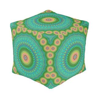 Hippie mandala pouf