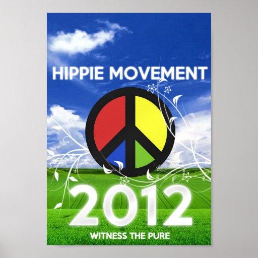 Hippie Movement Print
