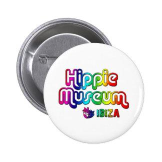 Hippie Museum Ibiza 2 Inch Round Button