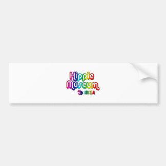 Hippie Museum Ibiza Bumper Sticker