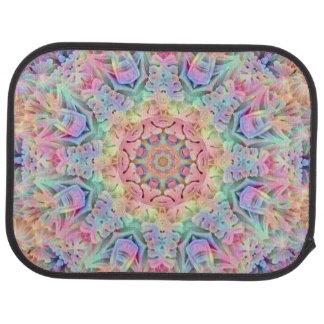 Hippie Pattern  Custom Car Floor rear Car Mat
