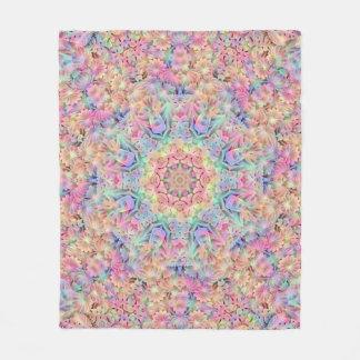 Hippie Pattern Custom Fleece Blanket, 3 sizes