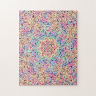 Hippie Pattern  Photo Puzzle with Gift Box
