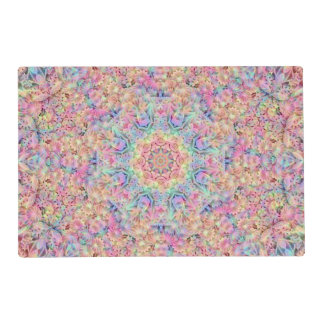 Hippie Pattern  Placemat Laminated Place Mat