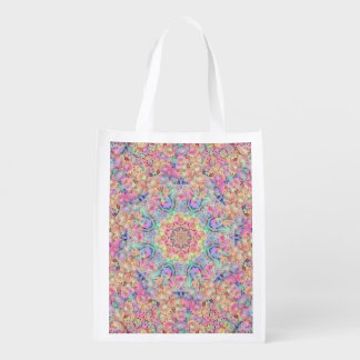 Hippie Pattern Reusable Bag