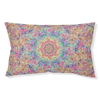 Hippie Pattern  Vintage Dog Bed