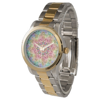 Hippie Pattern   Vintage Womens Watch