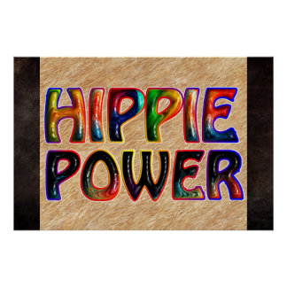 HIPPIE POWER POSTERS