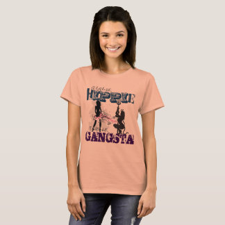 Hippie Quirky Gangsta T-Shirt