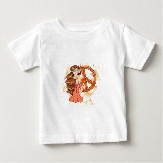 Hippie Rose Baby T-Shirt