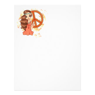 Hippie Rose Letterhead