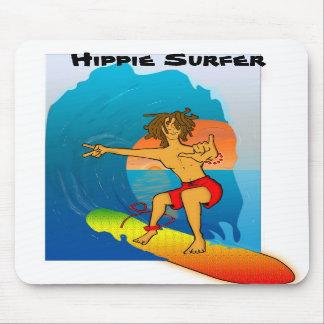 Hippie Surfer Mousepad