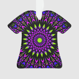 Hippie t-shirt ornament. Groovy baby! Ornament