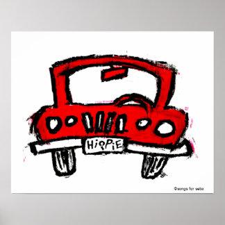 Hippie Truck Poster