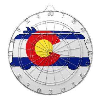 Hippie Van - Colorado Dartboard