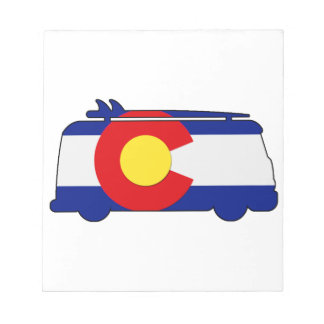 Hippie Van - Colorado Notepad