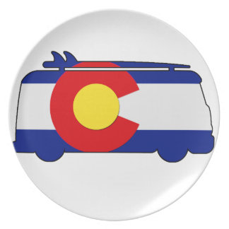 Hippie Van - Colorado Plate