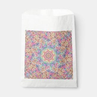 Hippie Vintage Kaleidoscope  Favor Bags