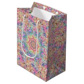 Hippie  Vintage Kaleidoscope Medium Gift Bag