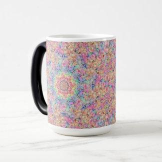 Hippie Vintage Kaleidoscope Morphing Mug