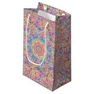 Hippie Vintage Kaleidoscope   Small Gift Bag
