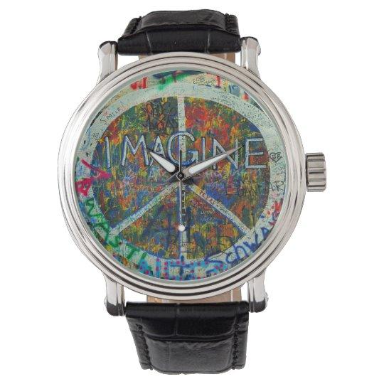 Hippie Wall Art Watch