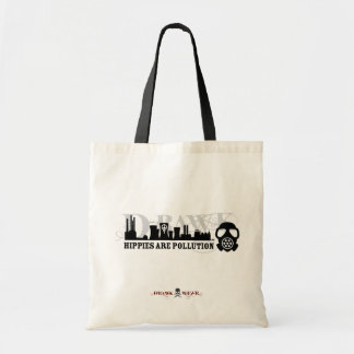 HIPPIES ARE POLLUTION Eco-Friendly Tote