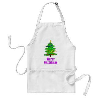 Hippie's Happy Christmas Tree Aprons