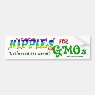 Hippies pour l'adhésif pour pare-chocs d'OGM Autocollant De Voiture