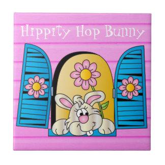 Hippity Hop Bunny Window Tile