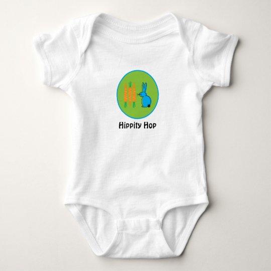 Hippity Hop Rabbit Baby Bodysuit