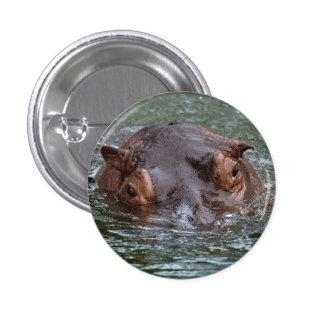 Hippo 8879 1 inch round button