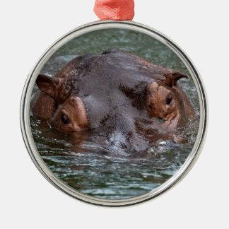 Hippo 8879 metal ornament