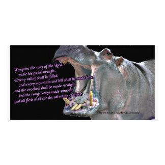 Hippo Advent Card