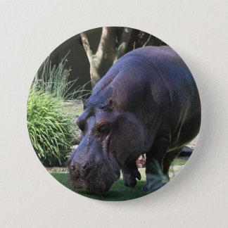 Hippo AJ17 3 Inch Round Button