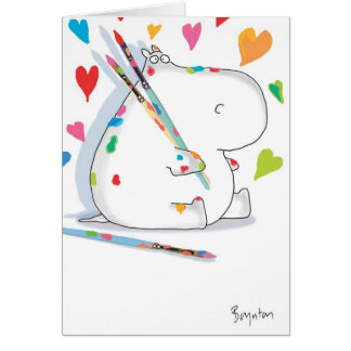 HIPPO ARTIST Love Card