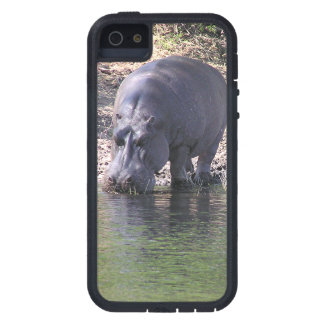 """""""HIPPO AT THE RIVER""""Case-Mate Tough Xtreme iPhone iPhone 5 Covers"""