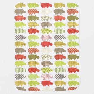 Hippo Baby Blanket