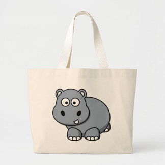 Hippo Baby Large Tote Bag