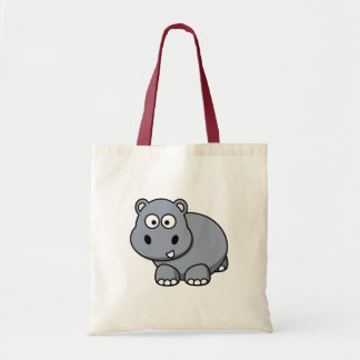 Hippo Baby Tote Bag
