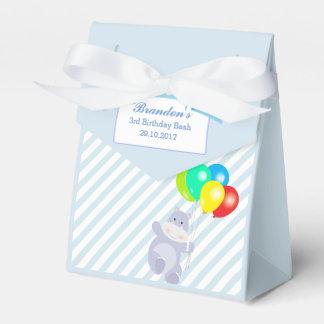 Hippo Balloons Adventure Birthday Party Favour Favor Box