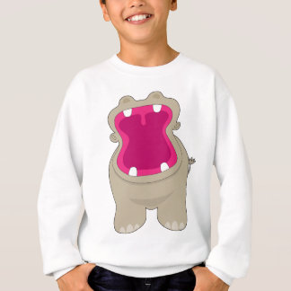 Hippo Big Mouth Sweatshirt