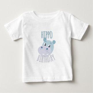 Hippo Birthday Baby T-Shirt