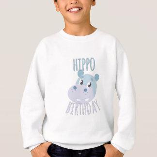 Hippo Birthday Sweatshirt