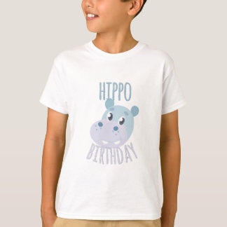 Hippo Birthday T-Shirt