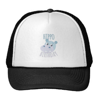 Hippo Birthday Trucker Hat